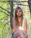 Adolescente bonito Imagenes de archivo