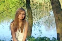 Adolescente bonito Imagen de archivo