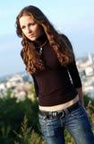 Adolescente bonito Imagens de Stock
