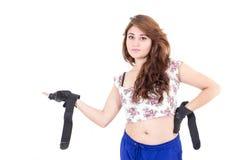 Adolescente bonito con actitud Foto de archivo libre de regalías