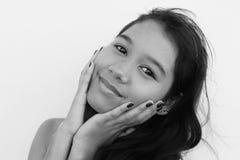 Adolescente bonito de Tailândia fotos de stock royalty free