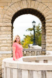 Adolescente bonito del blonde de la muchacha Foto de archivo libre de regalías