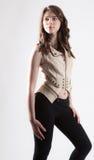 Adolescente bonito en la moda moderna Imagen de archivo libre de regalías