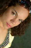 Adolescente bonito que mira en t Imagen de archivo libre de regalías