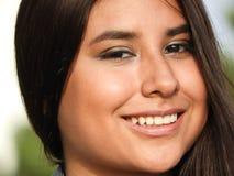 Adolescente bonito sonriente Foto de archivo