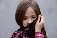 Adolescente cómodo Foto de archivo libre de regalías