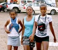 Adolescente caboverdiano Foto de archivo