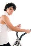 Adolescente che fa esercitazione Fotografia Stock