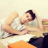 Adolescente che fa lavoro Fotografia Stock