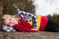 Adolescente coloreado Imagen de archivo libre de regalías