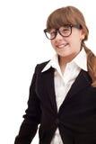 Adolescente como empresaria Fotografía de archivo libre de regalías