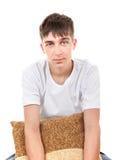 Adolescente con el amortiguador Foto de archivo