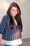 Adolescente con el Hoodie Fotos de archivo libres de regalías