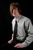 Adolescente con el lazo Imagen de archivo