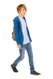 Adolescente con el morral Foto de archivo libre de regalías