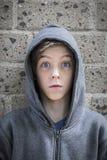 Adolescente con el ojo ancho Imagenes de archivo