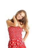 Adolescente con estilo Fotografía de archivo libre de regalías