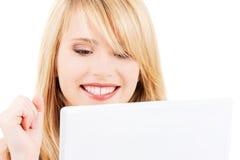 Adolescente con il computer portatile Immagine Stock Libera da Diritti