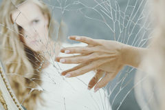 Adolescente con la depresión Foto de archivo libre de regalías