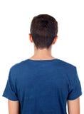Adolescente con la parte posterior del pelo corto Foto de archivo libre de regalías