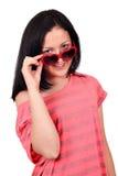 Adolescente con las gafas de sol Foto de archivo