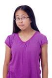 Adolescente con los ojos Ancho-abiertos Foto de archivo libre de regalías