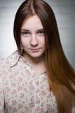 Adolescente con los ojos bonitos Imagen de archivo libre de regalías