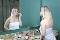 Adolescente con maquillaje Fotos de archivo libres de regalías