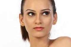 Adolescente con maquillaje agradable Imágenes de archivo libres de regalías
