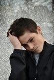 Adolescente con problemas grandes Foto de archivo libre de regalías