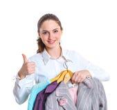Adolescente con ropa Imágenes de archivo libres de regalías