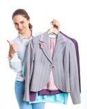 Adolescente con ropa Foto de archivo libre de regalías