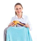 Adolescente con ropa Imagenes de archivo