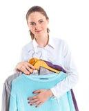 Adolescente con ropa Fotografía de archivo libre de regalías