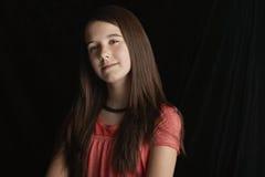 Adolescente confiado Foto de archivo libre de regalías