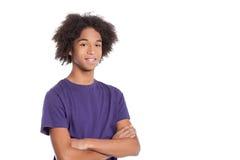 Adolescente confiado. Fotografía de archivo