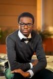 Adolescente confiado afroamericano Fotos de archivo