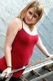Adolescente confidente Fotografía de archivo
