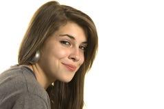 Adolescente confidente imagen de archivo