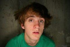 Adolescente confuso Imágenes de archivo libres de regalías