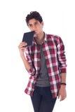 Adolescente confuso Imagen de archivo libre de regalías