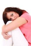 Adolescente dans l'amour Photos libres de droits