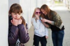 Adolescente dans la dépression Photographie stock