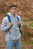 Adolescente de 18 años afuera Imagen de archivo