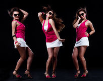 Adolescente de danse Photo stock