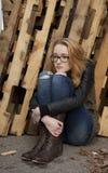 Adolescente de Drepressed Fotos de archivo