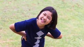 Adolescente de emisión Foto de archivo libre de regalías