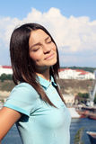 Adolescente de fille Image stock