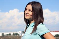 Adolescente de fille Photographie stock