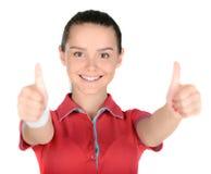 Adolescente de la aptitud Foto de archivo libre de regalías